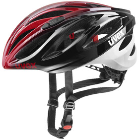UVEX Boss Race LTD Casco, black red